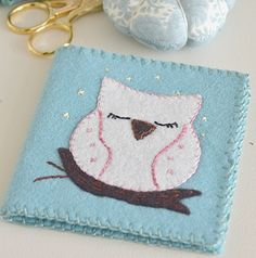 Mini tutorial ~ Owl Needle Book