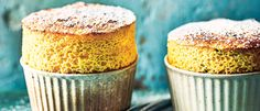 The beauty of this recipe is that it uses some store-cupboard ingredients to create a restaurant-looking dessert. Mango Souffle, Passionfruit Recipes, Can I Eat, Fruit Party, Types Of Cakes, Dessert Recipes, Desserts, Dessert Ideas, Pudding Cake