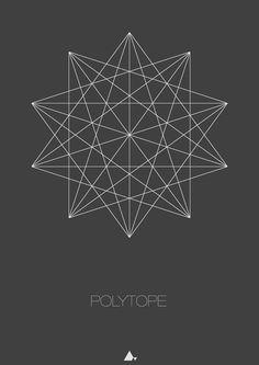 """Polytope"" Art Print"