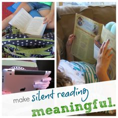 To become fluent readers students need to do a lot of silent reading that they find interesting! (Graves, 2011, p. 4) Fluency is not only in oral reading but also silent reading (Graves, 2011, p. 224). Children begin to comprehend more with silent reading as well as reading out loud.