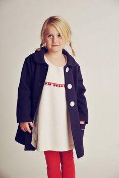 Wollmantel für kleinen Prinzessinen // Wool coat for girls by TULPIDA via DaWanda.com