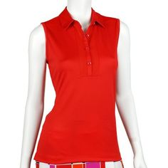 EP Pro Red Hots Tour Tech Jersey Mesh Inset Polo