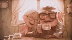 Alex and I love this movie<3 We'll be that old couple some day!