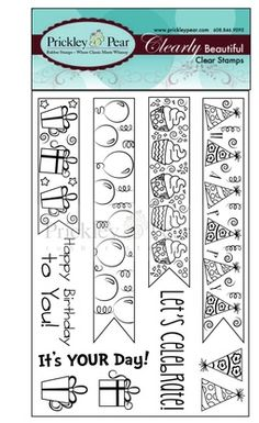 Prickley Pear Dragonfly Clear Stamp and Die Set # 1