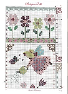 Cuore e Batticuore - Spring in Quilt - pattern part 1 of 4