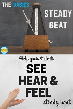 Students see, hear, and feel beat through real-life interactive examples. Perfect for lower and upper elementary students!