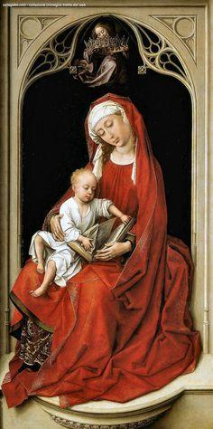 Weyden – Vergine e Bambino (Durán Madonna) – Prado