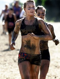 Motivated for another mud run!  Hope I can wear something like this next time!