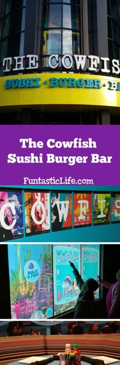 The Cowfish Sushi Burger Bar in Orlando Review