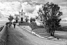 Ermita de Sant Ramon - Blanco y negro Fotografía: María José Reyes