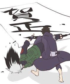 is this a food wars refrence? Kakashi And Obito, Naruto Uzumaki, Anime Naruto, Boruto, Anime Manga, Naruto Wallpaper, Sasunaru, Best Friends Forever, Tokyo Ghoul