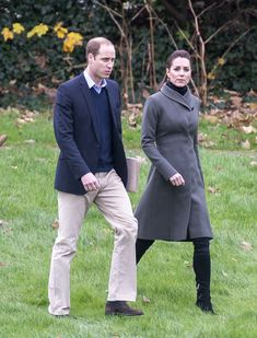 The Duchess of Cambridge returned to her country roots in a casual outfit consiting of jeans and a recycled coat from 2010 for a trip to North Wales with her husband, Prince William, on Friday