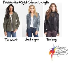 How to Choose the Correct Sleeve Length | Inside Out Style