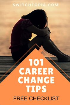 101 Career Change Tips - FREE Checklist - Switchtopia - Nick Murphy Finding The Right Career, Find A Career, Choosing A Career, Dream Career, Job Career, Find A Job, Career Advice, Dream Job, Career Path