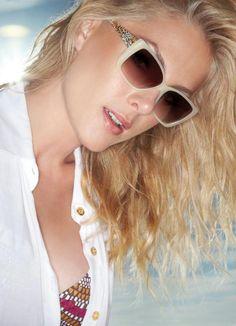 a8e7b859a873a COMPRE AQUI  Óculos de Sol Ana Hickmann Ah9135-L01 Off-White - Código do  produto  1888422