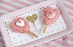 Erdbeer Sahne Eis am Stiel in Herzform, Rezept für Valentinstag   Strawberry popsicle recipe for Valentine's Day   mybeautylounge.de