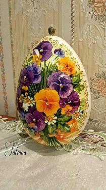 Magiczne dodatki: Pisanki decoupage na Stylowi.pl Easter Egg Crafts, Easter Art, Easter Eggs, Egg Shell Art, Easter Egg Designs, Rock Painting Designs, Faberge Eggs, Egg Art, Easter Celebration