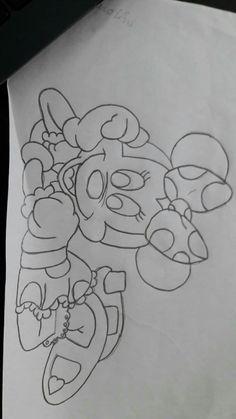 Outline Drawings, Easy Drawings, Pencil Drawings, Cute Panda Drawing, Pattern Coloring Pages, Painting Templates, Cute Disney Drawings, Disney Printables, Doll Quilt