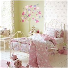 35 Heart Themed Interior Decor Kids Room Ideas