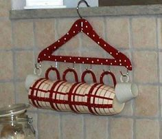Great idea for the old hanger in the store, Upcycled home & garden, Oceanside CA.
