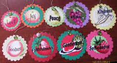 Fruit Of The Spirit Crafts   here are the fruit ornaments i made for the activity