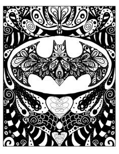 zentangle superheroes - Google Search