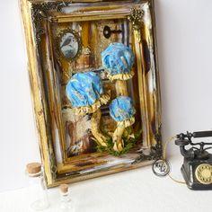 doll, art,creativ, mushroom Stuffed Mushrooms, Dolls, Creative, Frame, Handmade, Painting, Home Decor, Art, Stuff Mushrooms