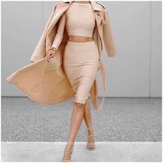 Who doesn't #love going naked on the #weekend..... #Flawless ALL-NUDE-ERRAYTHANG #outfit #getthelook 'Take It In Your Stride' leatherette #skirt online here http://goo.gl/IJBms8 SEAGULLSOFSTKILDA.COM.AU & the retail-store #ootd #girlboss #style #seagullsstyle