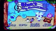 Blue's Big Musical Movie DVD Menu - YouTube