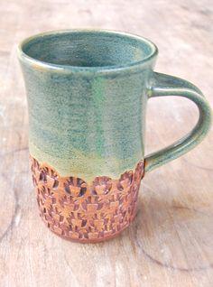 Greenbrier Black Ceramic Stoneware 22oz Soup Mug Cup Bowl Embossed Band Rim