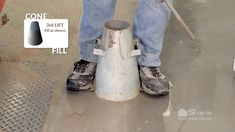 Slump of Hydraulic-Cement Concrete ACI Technician Workbook ------------------------------------------------------------------ NOTE There is no requ. Concrete, Make It Yourself