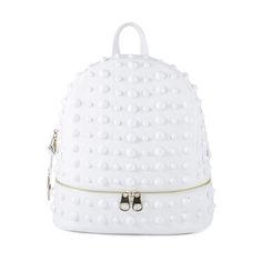 Stud N' Chic Handbag in White #TraciLynnJewelry
