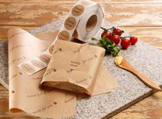 Planglow | NAT025 - Natural Deli Paper | Eco Packaging | Sandwich | Hot Food | Rustic | Grab & Go |