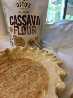 Paleo Pie Crust made with Otto's Naturals Cassava Flour | Back Porch Paleo