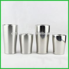 Double Wall Vacuum Stainless Steel Ceramic Beer Mug with Clear Tritan Lid