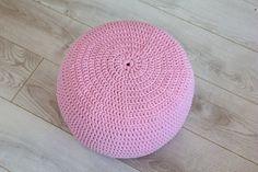 Beautiful crochet pouf,ottoman,footstool,decor&housewares,floor pillow,seat, home interior,living room,knitting pouf,crochet pouf