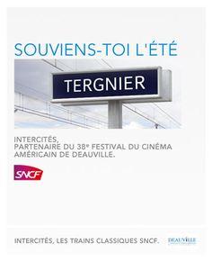 Festival du #Cinema de #Deauville + #SNCF