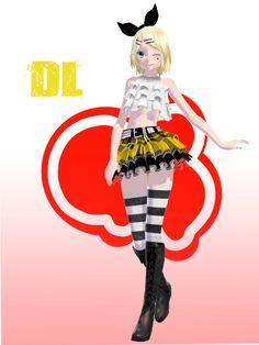 TDA Rocker Rin -DL- by KhrisMx on DeviantArt