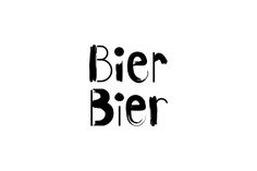 Bier Bier is a bar situated on the ground floor of a grand Art Nouveau building in central Helsinki, serving over 100 different types of beer. Tsto created the black and white graphic identity including the logotype which combines organic brush strokes wi…