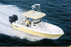 2012 Blue Water Boats 2350 Center Console Boat