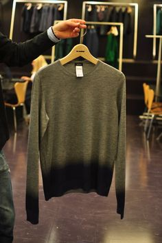dip dye-ish sweater
