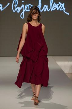 Collection of Andrea Pojezdálová presented during Fashion LIVE! Summer Dresses, Collection, Live, Style, Fashion, Moda, Summer Sundresses, La Mode, Fasion
