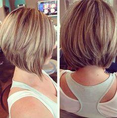 Einfach-zu-Stil Geschichteten Frisuren, die Wir Lieben // #EinfachzuStil #Frisuren #Geschichteten #Lieben