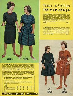 Toivepukuja vuosi 1961