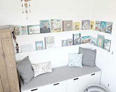 Pixel Pixel The post Pixel appeared first on Babyzimmer ideen. Reading Nook Kids, Cozy Reading Corners, Kids Bedroom Boys, Girl Room, Ikea Kids, Kids Corner, Kid Spaces, Lp Storage, Record Storage