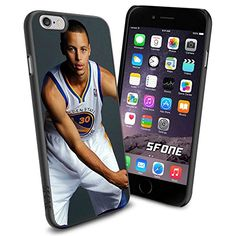 """NBA Basketball Player Wardell Stephen """"Steph"""" Curry Golden State Warriors , Cool iPhone 6 Smartphone Case Cover Collector iphone TPU Rubber Case Black Phoneaholic http://www.amazon.com/dp/B00WHAIYAO/ref=cm_sw_r_pi_dp_3CQpvb1KT25ED"""