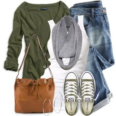 Match Cardigan& Shoes by wishlist123 on Polyvore