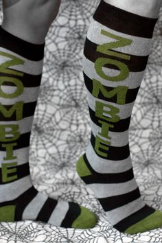 Another must have:  Zombie Knee Highs