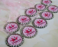 princess birthday party favors girls by littleprincessbling, $30.00