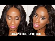 Lorac Pro Palette 2 Tutorial | Sultry Rose Gold Eyes